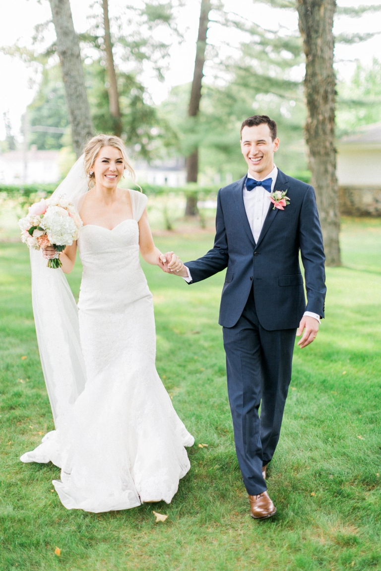 Bride & Groom | Harbor Springs MI | The Weber Photographers
