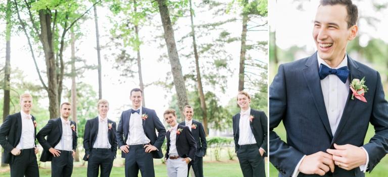 Handsome Groomsmen | Bowties | The Weber Photographers