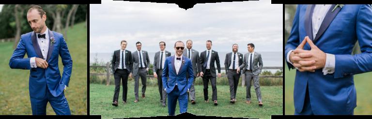 Custom Groom's tuxedo | The Weber Photographers | Cory Weber