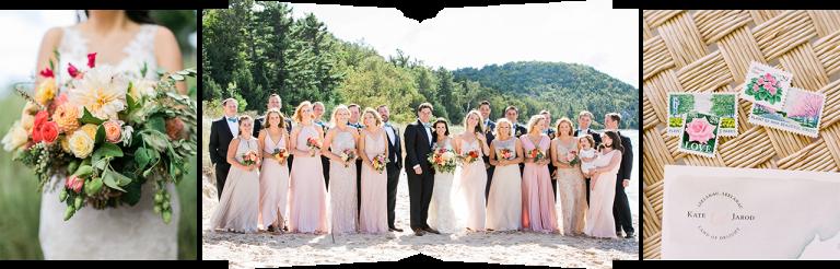 Traverse City Michigan Wedding Party | The Weber Photographers | Cory Weber
