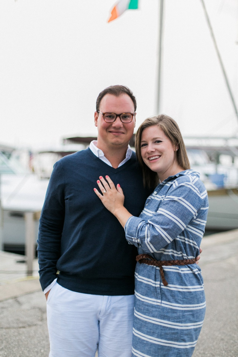 Harbor Springs Engagement Photography | The Weber Photographers | Associate Photographer Chelsey