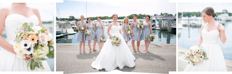 Northern Michigan Wedding Photography | The Weber Photographers | Associate Photographer Chelsey Granger | Weddington Way Bridesmaids | Monarch Garden & Floral