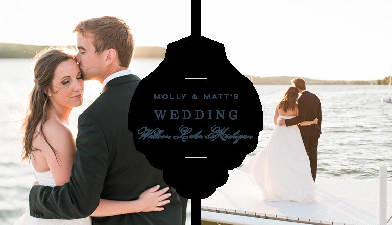 Walloon Lake Michigan Wedding Photography | The Weber Photographers