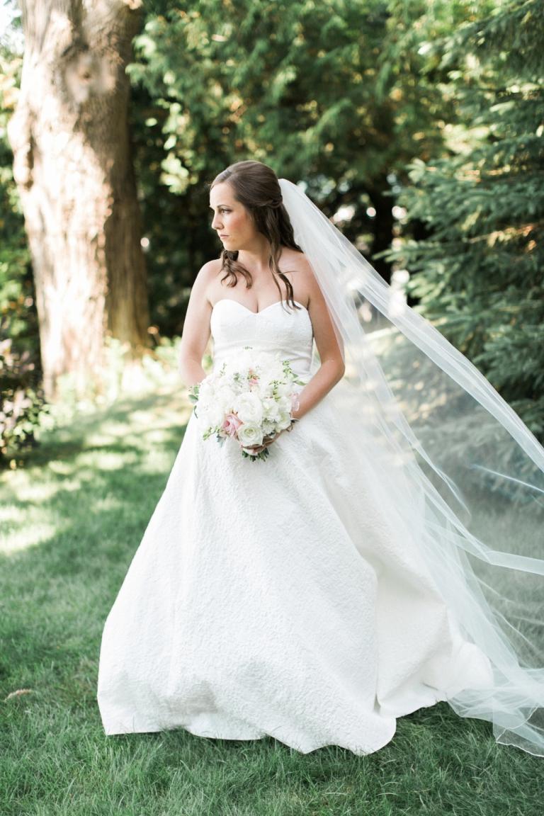 Lela Rose Gown | Walloon Lake Wedding Photographer | The Weber Photographers | Cory Weber