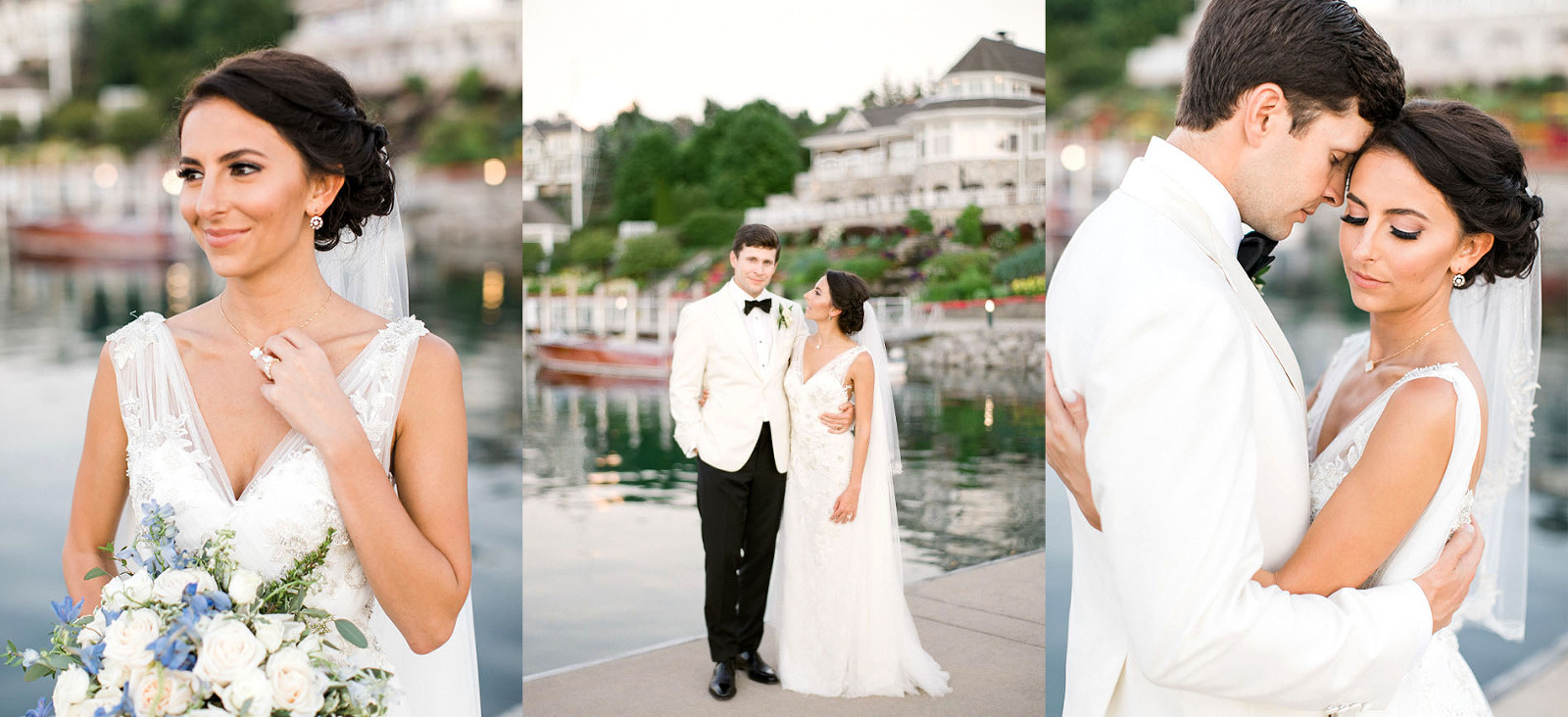 Bay Harbor Yacht Club Wedding Photographer | The Weber Photographers