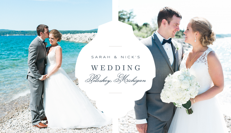 Perry Hotel Wedding Photography | Petoskey, Michigan | The Weber Photographers