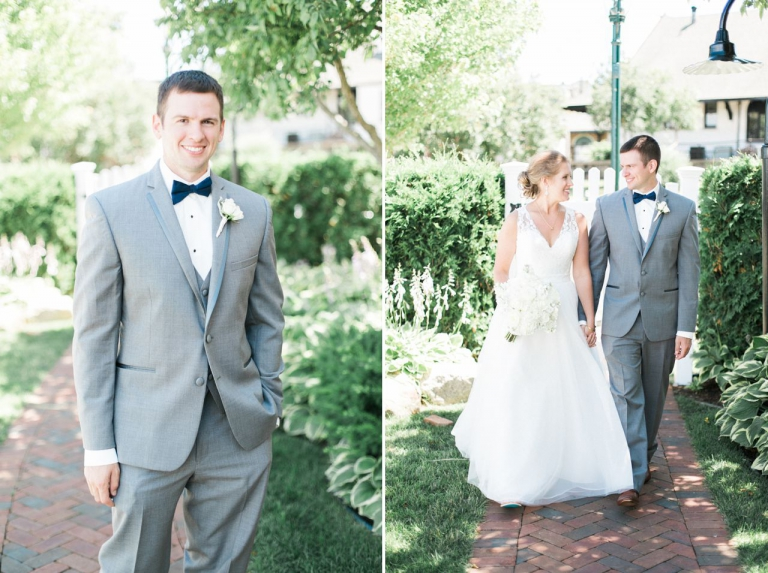 Petoskey Bridal Men's Tux | Perry Hotel Wedding Photography | Petoskey, Michigan | The Weber Photographers