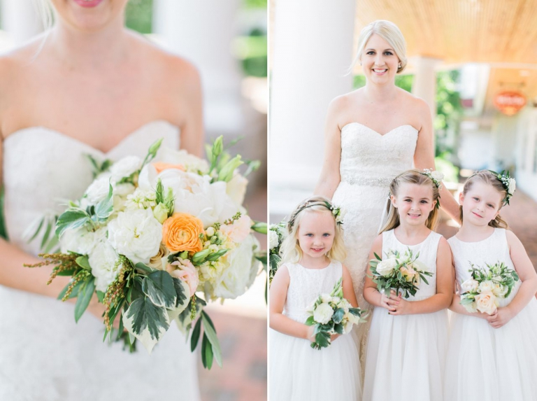 BLOOM Floral Design | Stella York Bridal | Inn at Bay Harbor Wedding | The Weber Photographers