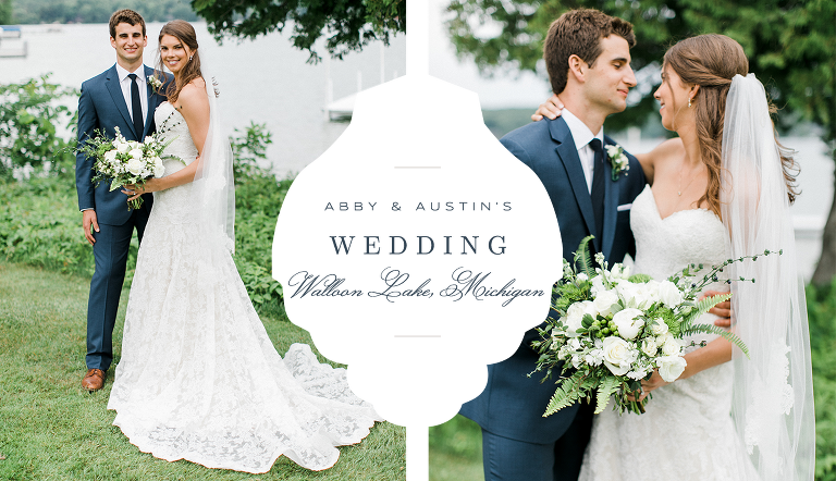Walloon Lake Country Club Wedding | The Weber Photographers