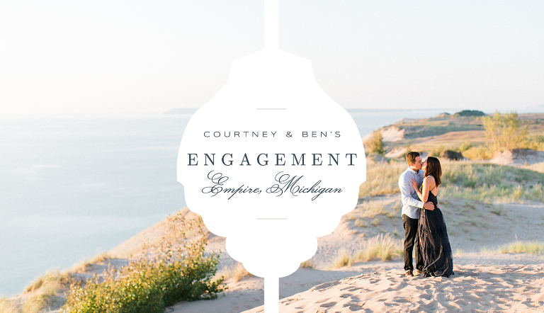 Sleeping Bear Dunes Engagement | The Weber Photographers