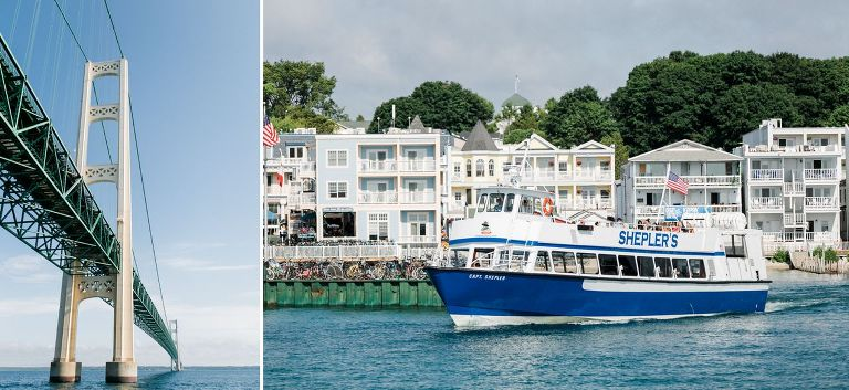 Mackinac Island Wedding Photography | The Weber Photographers