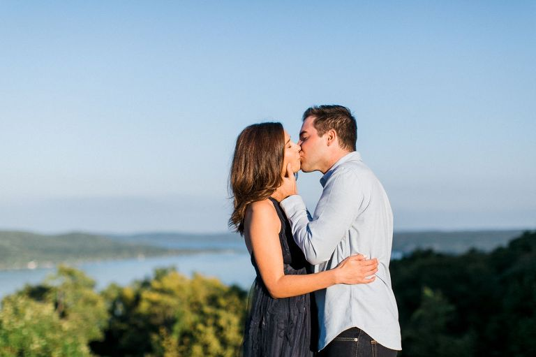 Glen Lake Engagement  | The Weber Photographers