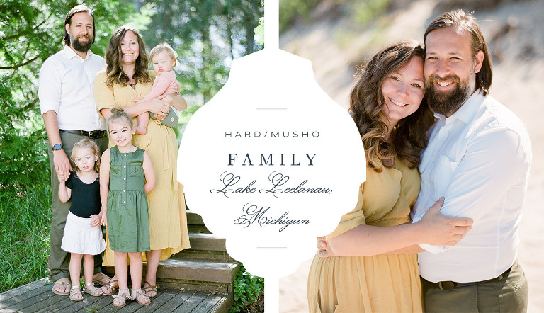 Leelanau County Family Portrait | The Weber Photographers