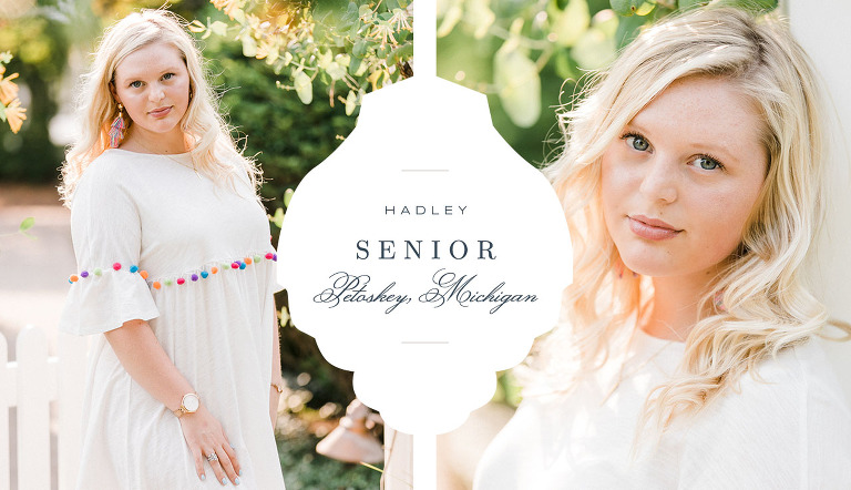 Petoskey Senior Portrait | The Weber Photographers