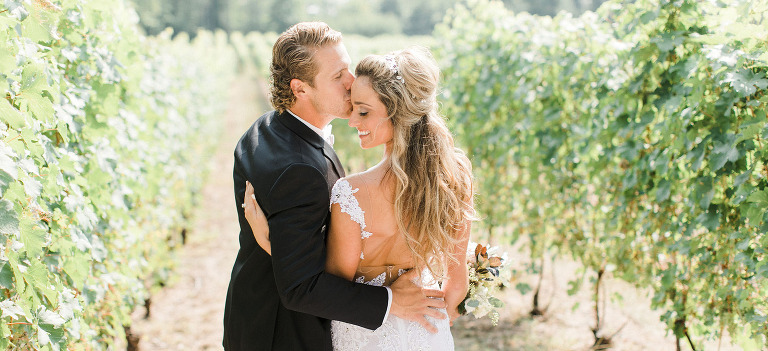 Old Mission Vineyard Wedding Photographer | The Weber Photographers