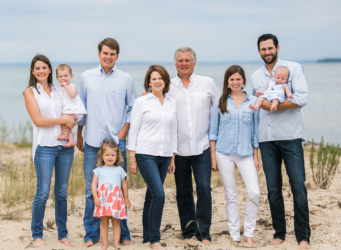 Suttons Bay Michigan Family Portrait | The Weber Photographers