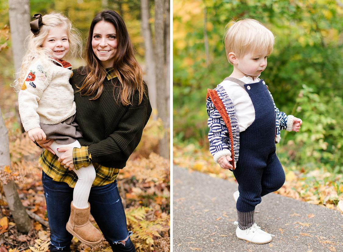 Charlevoix Michigan Family Portrait | The Weber Photographers