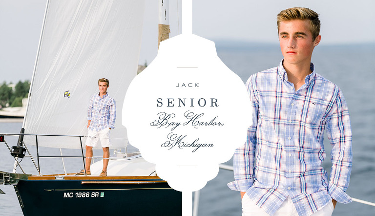 Bay Harbor Senior Portrait | The Weber Photographers