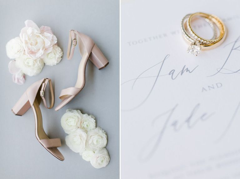 Northern Michigan Wedding Invitation Details | The Weber Photographers