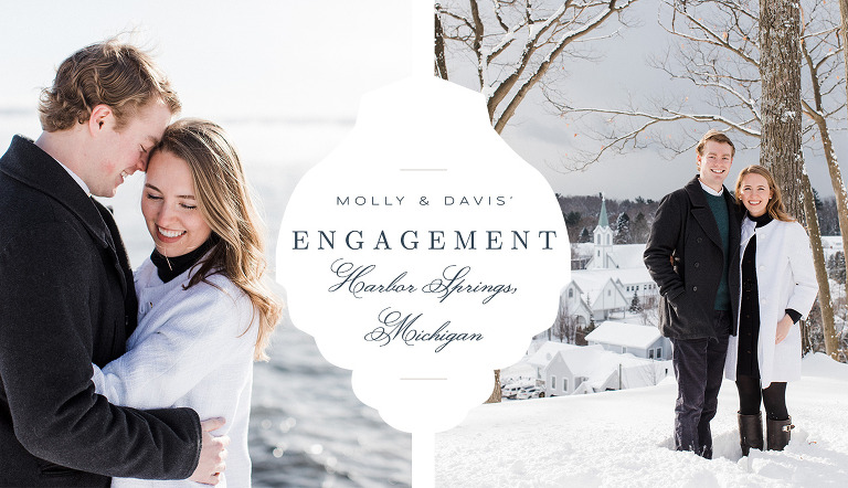Northern Michigan Engagement Photography | The Weber Photographers