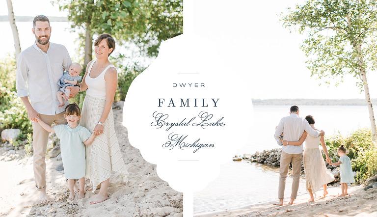 Crystal Lake Family Portrait | The Weber Photographers