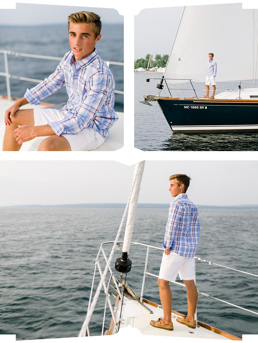 Bay Harbor Senior Portrait | The Weber Photographers