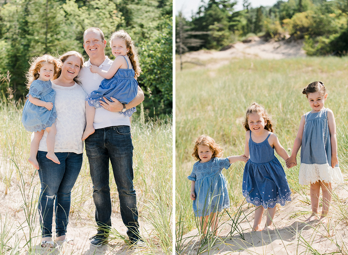 Lake Michigan Family Portrait Photography | The Weber Photographers